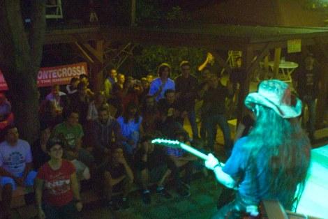 Michel Montecrossa live beim Spirit of Woodstock Festival
