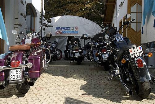 Bikes beim Spirit of Woodstock Festival