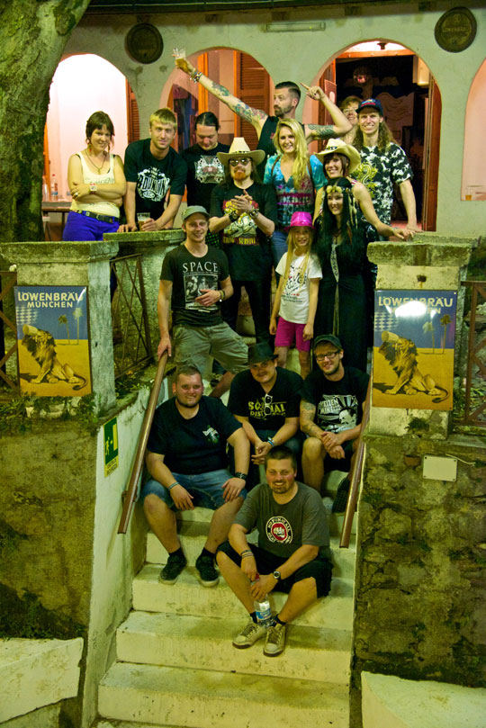 Michel Montecrossa & friends at the Spirit of Woodstock Festival