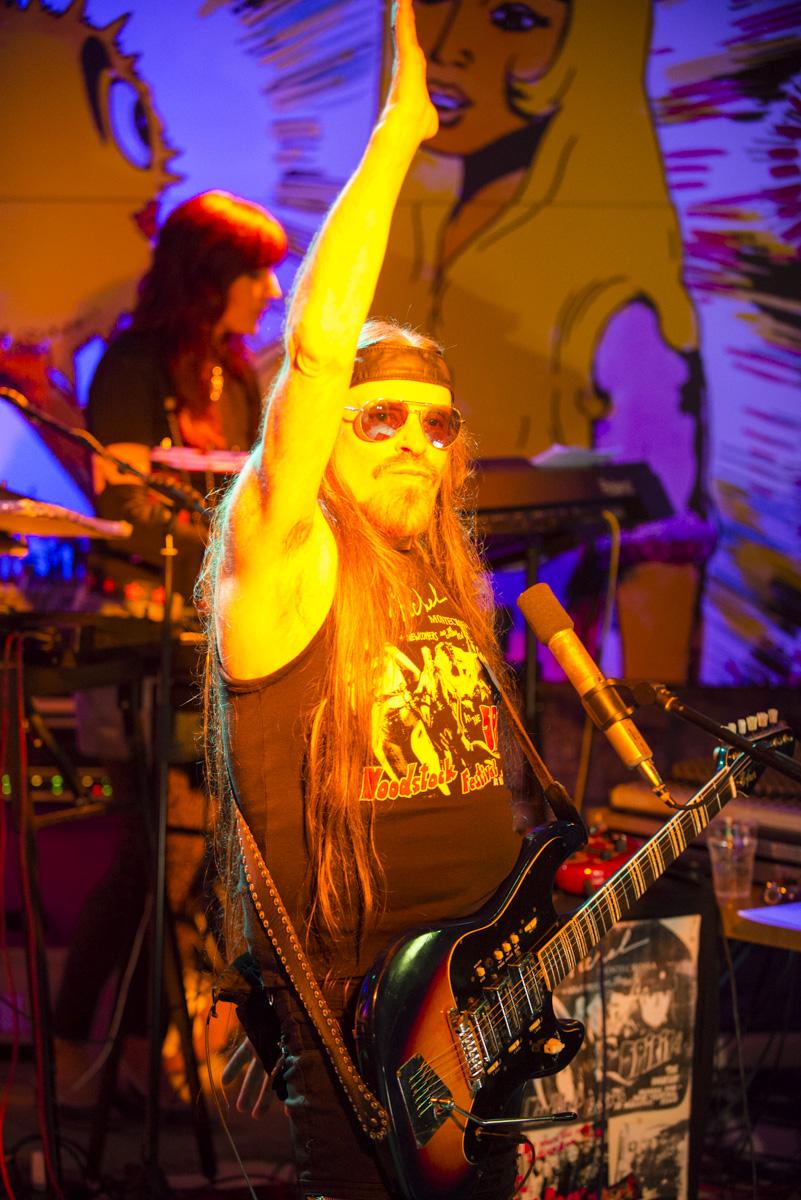 Michel Montecrossa at the Spirit of Woodstock Festival 2014