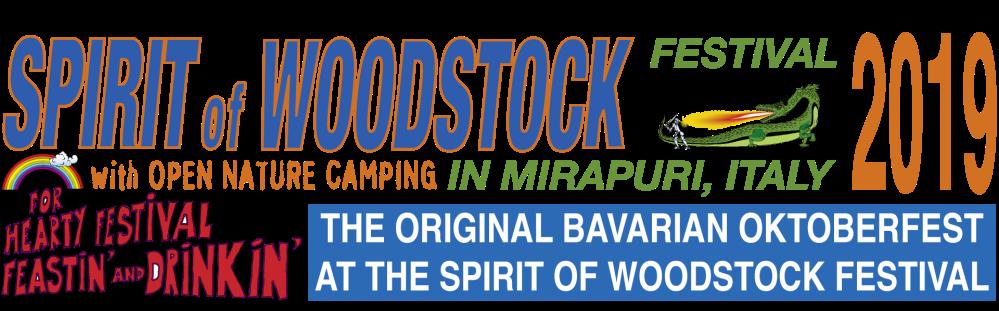 Banner Spirit of Woodstock 2019-2